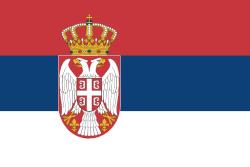 Vlajka země kde trať leží